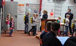 Kinderfeuerwehr Nortmoor Einmarsch