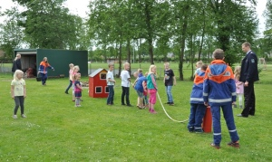 Kinderfeuerwehr Nortmoor Wasserspiele